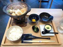 Very tasty Beef Sukiyaki to end my trip!