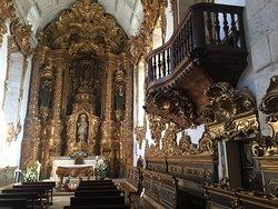 Altar-mor  da Igreja de Tibães