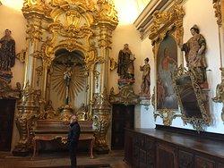 Altar da sacristia da Igreja de Tibães