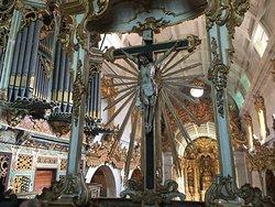 Coro alto e Orgão da Igreja de Tibães