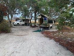 Kwala campsite Liuwa Plain NP Zambia
