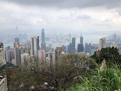 Incredible view of Hong Kong