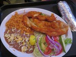 Fried Tilapia Platter