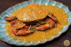 Curry crab  #Sadec6 #68ĐặngVũHỷ ---------------- Sadec 6 - Cuisines from the heart of Mekong - Nhà hàng ẩm thực di sản vùng Mekong 68 Đặng Vũ Hỷ, Sơn Trà, Đà Nẵng (https://g.page/Sadec6?) https://m.me/Sadec6 Hotline: 094 149 68 66 https://sadec6restaurant.com Instagram: sadec6danang #MonNgonDaNang #Sadec6 #MekongFood #VietnameseFood #Danang