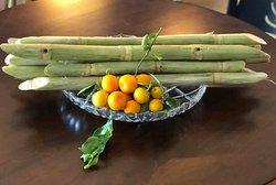 Sugarcane Juice with Kumquat - Nước mía nguyên chất