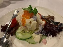 タラバガニのサラダ