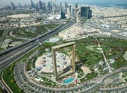 Enjoy stunning views of Dubai