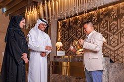 Arabic Coffee on the lobby