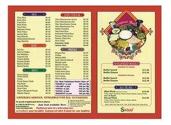 Traditional India gujarat food menu little India Mustafa