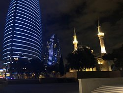 Символ современного Баку