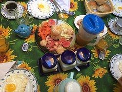 ...breakfast spread