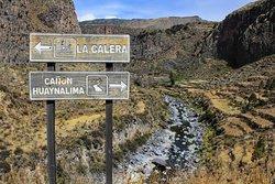 Huaynalima Canyon in Canocota. Colca