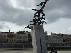 Monumento histórico de los alcatraces en Cartagena