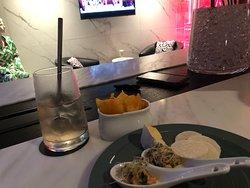 Canapés and drink - exec lounge