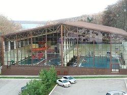 Аквапарк с бассейном, термальным комплексом, SPA зоной, тренажерным залом