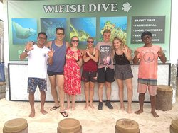 Excellent service and great dives
