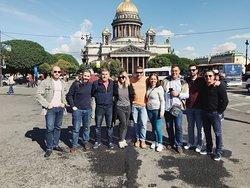 Visíta por San Petersburgo con guía privado en español