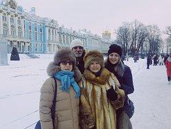 Palazzo di Caterina (Sala d'Ambra) in inverno - la visita con la guida privata