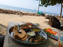 Lunch near beach