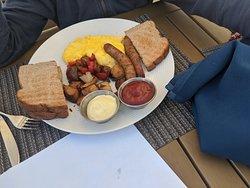 BluEmber breakfast kids' meal supersmash - decent size!
