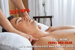 Here 202 SPA, is a new Massage spa under new management that is dedicated and designed to help you reduce stress, relieve chronic pain, and increase the quality of your life! We specialize in multiple affordable, customized treatments to meet the needs of a wide variety of clients in a comfortable down-to-earth setting! We are proud to be providing Authentic Asian Massage therapy services in our beloved community of New York City! Come in and visit today, you can call us now or walk-in!