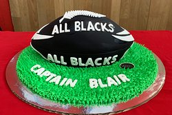 Cake for the brave Haka