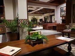 Reception - lounge area