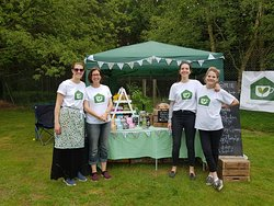 the greenhouse team at local RSPCA event