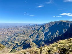 Excellent 3 day hike through Simien Mountains
