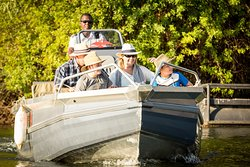 Our boats are family friendly and very safe.