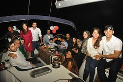 Happy Guest with www.oystersailing.in Call:  + 91 8080340240 / +91 8879293803 for booking process