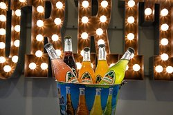 Jarritos a refreshing Mexican soda to compliment your burrito. Available in a range of flavours.