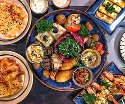 Platter and dishes