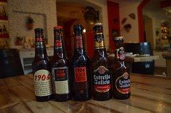 Birra Estrella Galicia: 1906, Rossa, Nera, Senza Glutine e Classica.