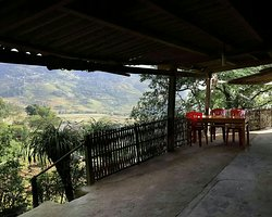 A beautiful hmong family homestay with sweeping panoramic views and lovely hosts.