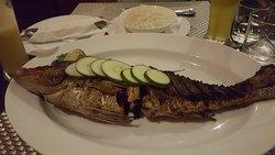 Уже приплыла. Мальдивы, остров Укулас, тайский ресторан SeaLaVie.