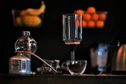 We do serve Syphon Coffee!!! Served for 3 or 4 persons  Price is just £7.00