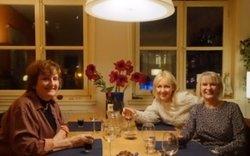 Two English travellers enjoying a wonderful taste of Dutch culture and cuisine!