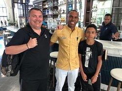 The best host and employee at Ocean El Faro, CARLOS!!!