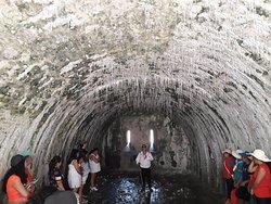 Narracion en una  de  las  bodegas-celdas en Sn. Juan de  Ulua