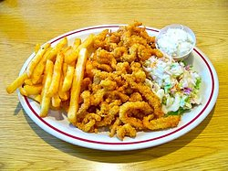 Fried Clam dinner, a classic!