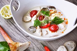 Tom Kha (Coconut Milk Soup)