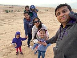 Dessert Safari with Arabian King Tours..