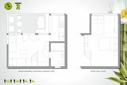 Résidencia San Ferreol, BUNGALOW #2 (Plan)