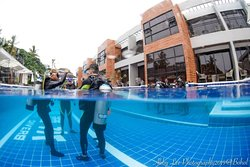 Open Water Diver Course in pool