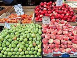 果物売り場