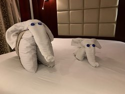Another gift from the housekeeping team