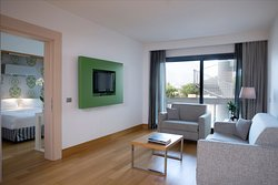 Wyndham Rome Midas Junior Suite living 2