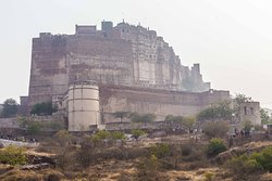Mehrangarh Fort - View from the road