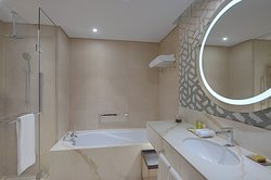 Superior One-Bedroom Master Bathroom